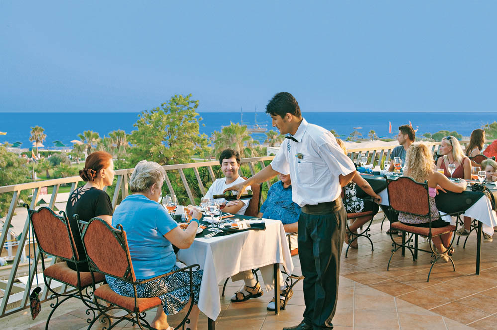 Club Calimera  Kaya Side Terrasse